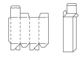 Коробка для бутылки своими руками из картона схема 88